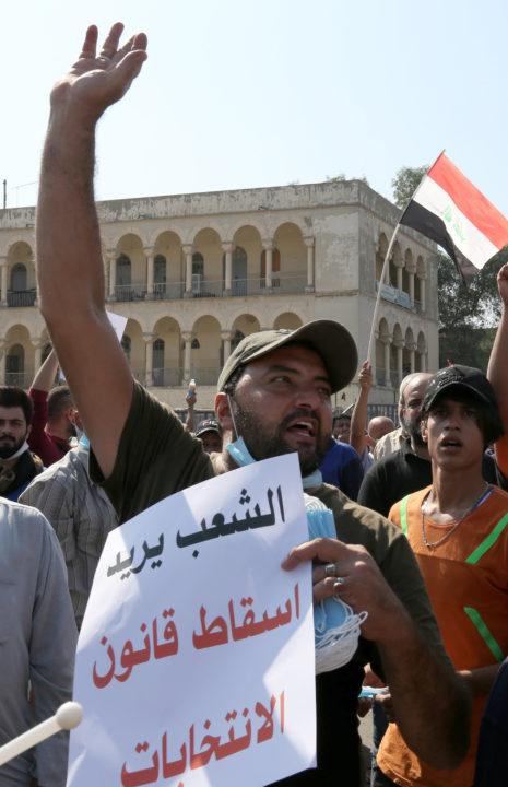 قانون اساسی عراق منشأ فاجعه و بحران امروز!